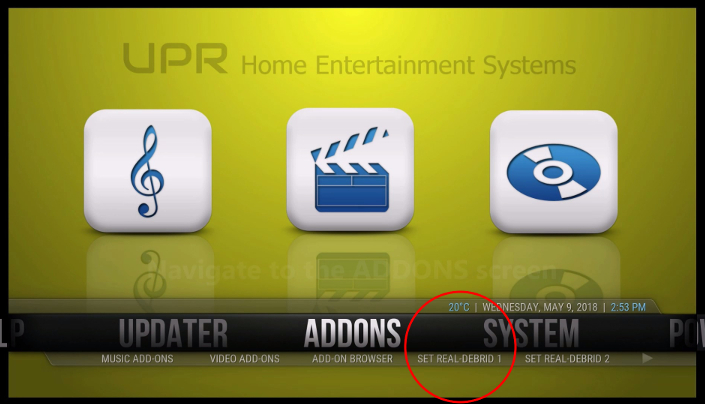 Improved Stream Links with Real-Debrid ⋆ UPR Streaming TV Boxes